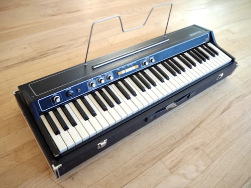 ~1975 Roland  EP-30 Vintage Electric Piano w/ Music Stand & Pedal, Stock