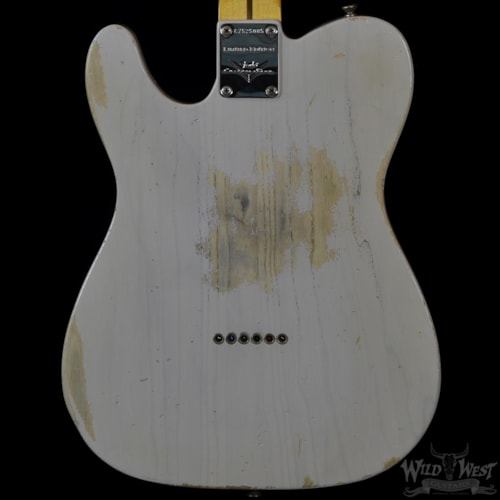 2016 Fender Masterbuilt '55 Esquire Relic Dirty White Blonde by Galuszka