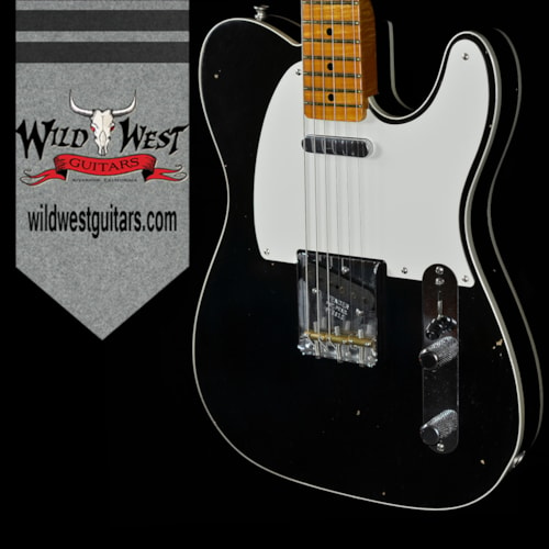 2016 Fender® Custom Shop LTD 50s Telecaster® Journeyman Relic® Aged Black