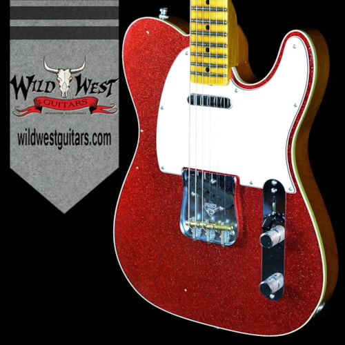 2016 Fender® 2016 NAMM Ltd Journeyman Tele® Red Sparkle Quarter Sawn Neck