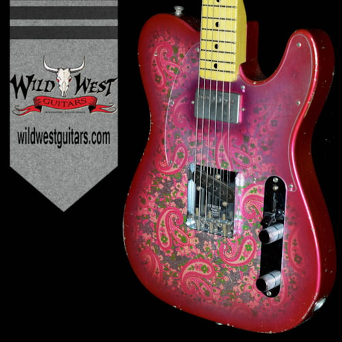 2016 Fender® Masterbuilt Relic® '68 Pink Paisley Tele® by Jason Smith