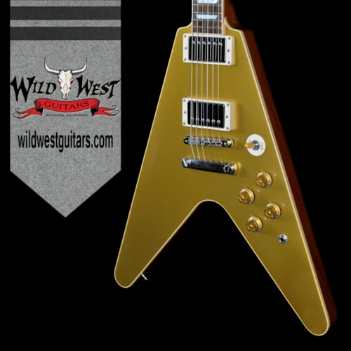 2013 Gibson Custom Shop Ltd Standard Flying V Gold Top