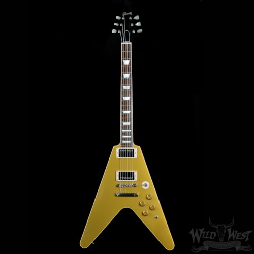 2013 Gibson 2013 Gibson Custom Shop Ltd Standard Flying V Gold Top