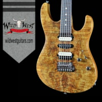 2016 Suhr Modern Spalted Maple Natural w/Satin Mahogany Neck