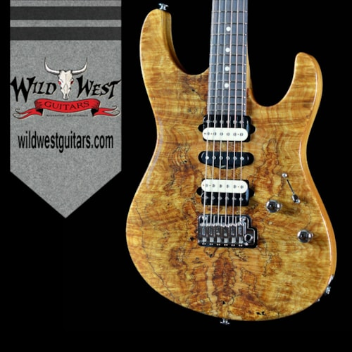 Suhr Suhr Modern Spalted Maple Natural w/Satin Mahogany Neck