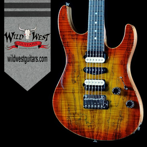 2016 Suhr Modern Spalted Maple Honey Burst w/Satin Mahogany Neck