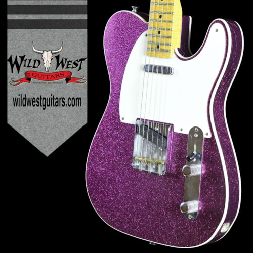 2016 Fender® 2016 LTD 50's Tele® Custom Journeyman Magenta Sparkle