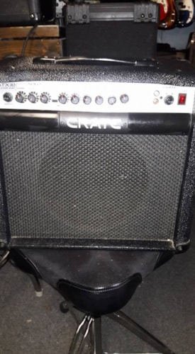 """2014 Crate GTX30 10"""" combo amp w/fx from Fortmadisonguitars.com"""