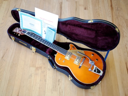 2014 Gretsch Chet Atkins G6121-1959 Electric Guitar Western Maple Duo Jet