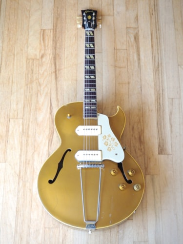 1953 Gibson ES-295 Vintage Archtop Electric Guitar Gold ES-175 w/ ohsc