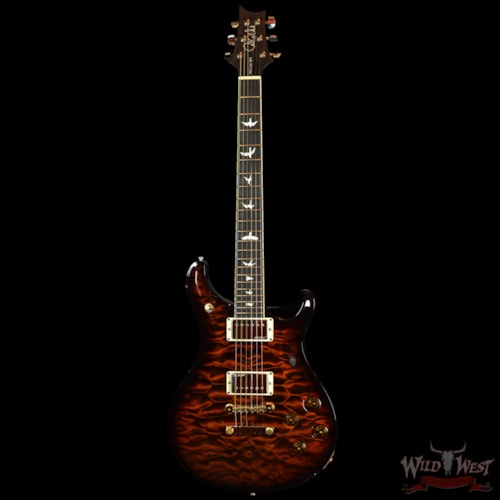 PRS - Paul Reed Smith PRS Artist Package McCarty 594 Black Gold Wraparound Quilt Top w/Brazilian Fretboard