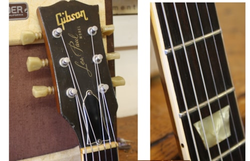 1971 Gibson Les Paul Standard '58 Goldtop Re-issue