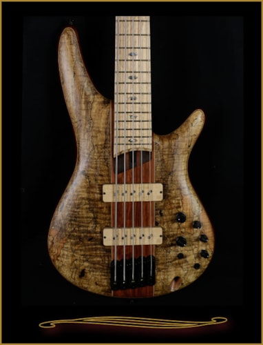 Ibanez SR5SMLTD Limited Edition 5-string with Spalt Maple Top