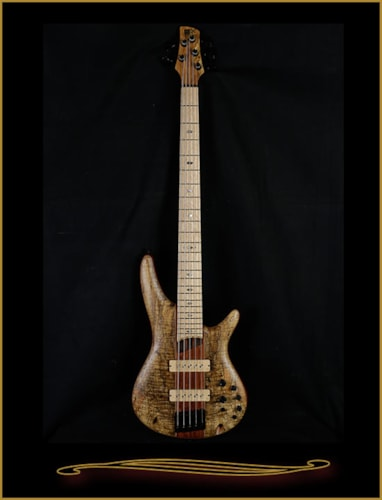 2016 Ibanez SR5SMLTD Limited Edition 5-string with Spalt Maple Top