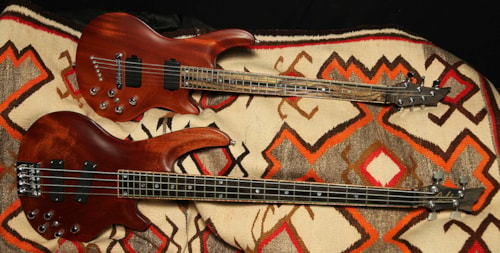 Curbow Petite Guitar and M4 Bass
