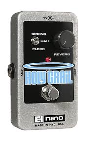 2016 Electro-Harmonix Holy Grail Nano Reverb Guitar Effects Pedal