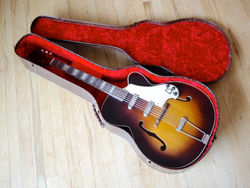 Kay K192 Vintage Archtop Electric Guitar Kent WC-25 Pickguard