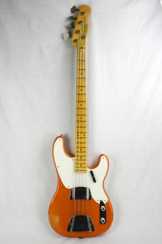 2015 Fender Custom Shop 1955 Precision Bass Relic Limited Edition Candy Tangerine 55