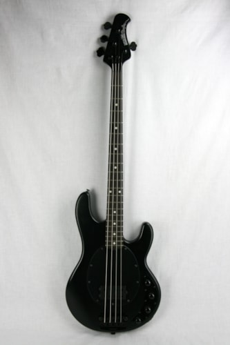 ~2015 ERNIE BALL MUSIC MAN Stingray Slo Special Bass RARE Stealth Black!