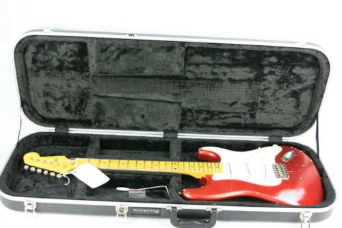 2010 Nash S-57 Heavy Relic® Stratocaster® Candy Apple Red! Maple Neck!