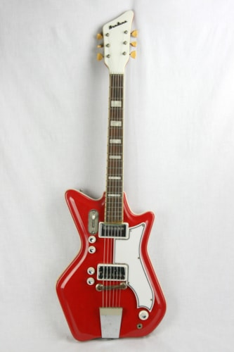 ~1965 Airline JB Hutto Jack White Stripes! Res-o-Glass! Gumby Headstock!