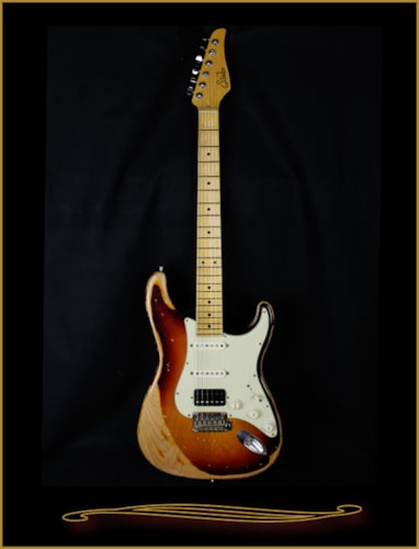 2016 Suhr Classic Antique Extra Heavy Aging with Maple Fretboard
