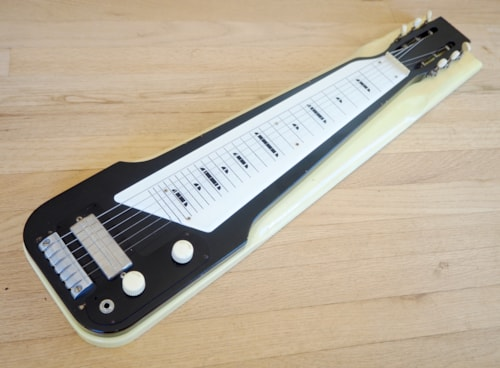 1965 Harmony Roy Smeck H7 Console Lap Steel 100% Original w/ Gibson P-13