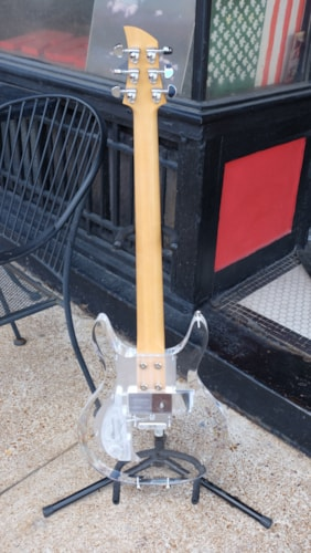 2008 Amp Dan Armstrong clear lucite guitar