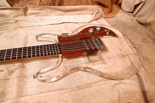 1971 Ampeg Dan Armstrong Lucite Guitar