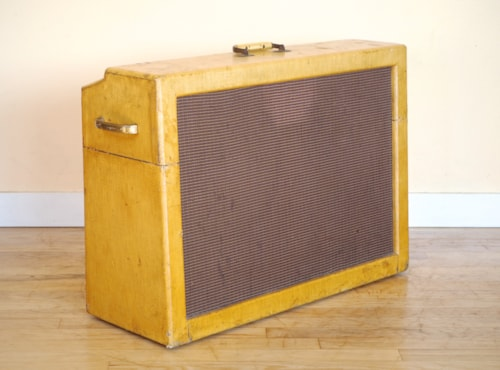 1959 Gibson GA200 Rhythm King 2x12 Vintage Tube Amplifier Rare 6550