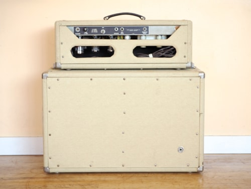 1962 Fender® Tremolux Brownface Pre-CBS 6G9-B Tube Amp 2x10 Oxford 10K5