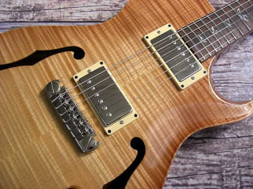 2009 Paul Reed Smith Singlecut Hollowbod Paul Reed Smith Singlecut Hollowbody  10 Top with Piezo