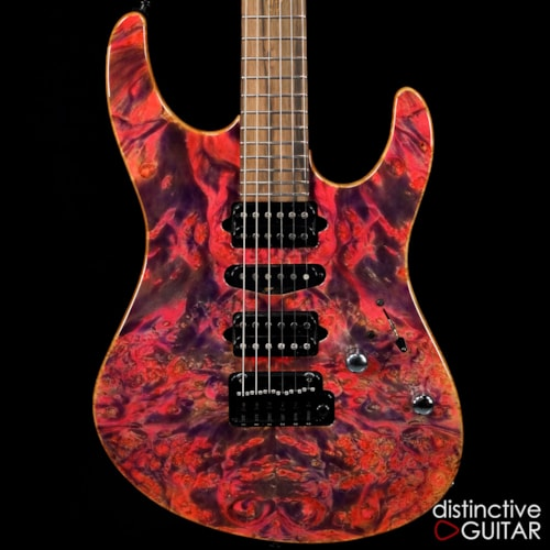Suhr Modern Custom Hand Selected NAMM Waterfall Burl