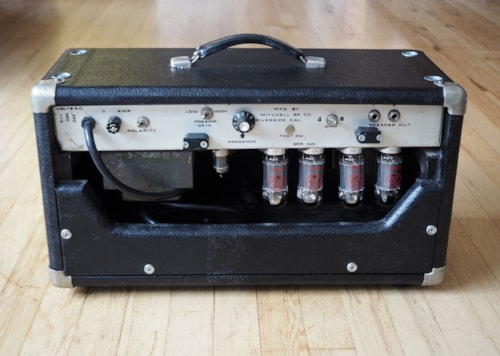 ~1975 Mitchell Pro-100 Vintage 100 Watt Tube Guitar Amp Head, Boogie Mark I