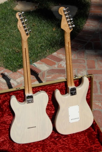 "1998  Fender®  ""54 Strat® and '50s Tele® Custom Shop Set"