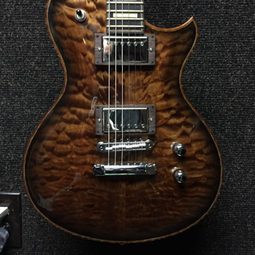 2016 Peterson exotic guitars LD-22 exotic les paul
