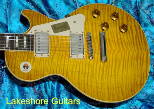 2014 Gibson 1958 Les Paul Historic  R8 Custom shop