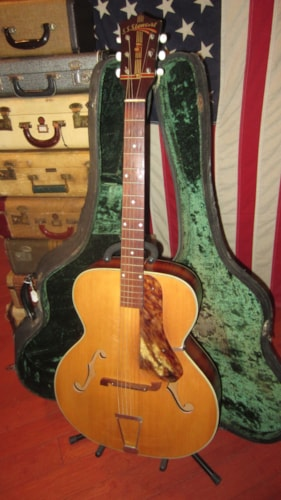 "~1949 S.S. Stewart 17"" Archtop Acoustic"