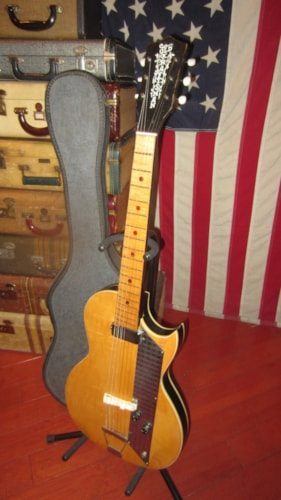 ~1963 Kay Old Kraftsman Value Leader Single Pickup Stratotone