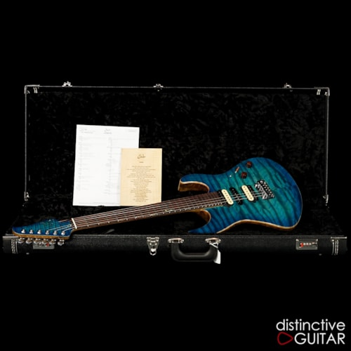 Suhr Modern Custom DG Select #7 Hand Selected Mega Quilt