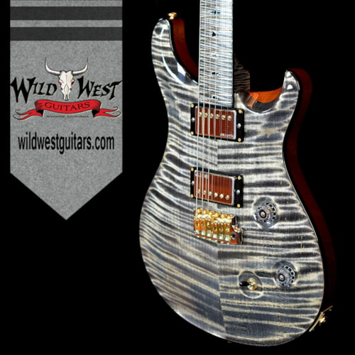 2016 PRS - Paul Reed Smith PRS Private Stock 6153 Custom 24 Flame Maple Top Neck & Fretboard Charcoal