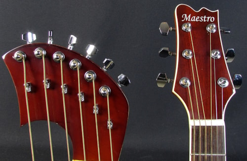 Maestro Double Neck Harp Guitar