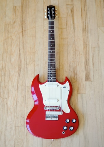 1966 Gibson SG Melody Maker D Vintage Electric Guitar Vibrola