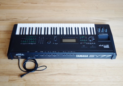 Yamaha SY77 Digital Synthesizer Workstation Vintage Keyboard DX7