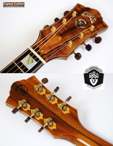 2013 Guild Custom Shop F30K 60th Anniversary #34 of 60