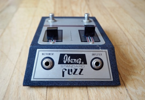 ~1975 Ibanez Standard Fuzz Vintage Guitar Effect Pedal Japan Superfuzz