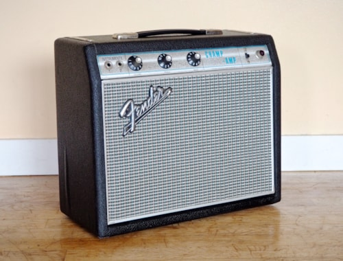 1968 Fender® Champ® Vintage Class A Tube Amp Drip Edge Blackface Circuit
