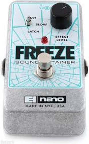 2016 Electro-Harmonix Freeze Sound Retainer Pedal