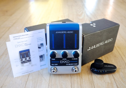 Aalberg Audio Ekko EK-1 Delay Guitar Effect Pedal & Aero AE-1 Wireless New