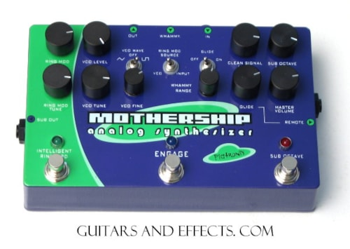 Other Pigtronix MGS Mothership Synthesizer Pedal Pigtronix MGS Mothership Synthesizer Pedal